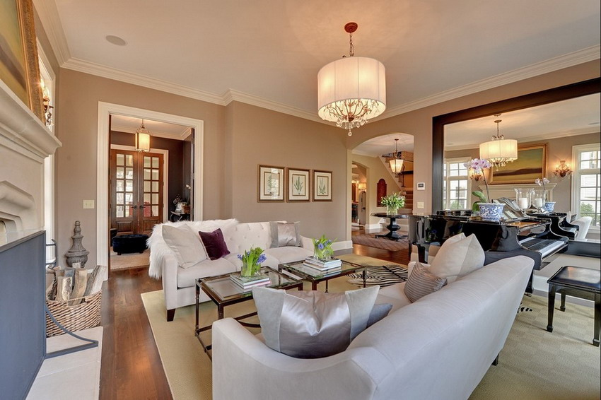 建筑素材设计网 别墅 室内设计实景图